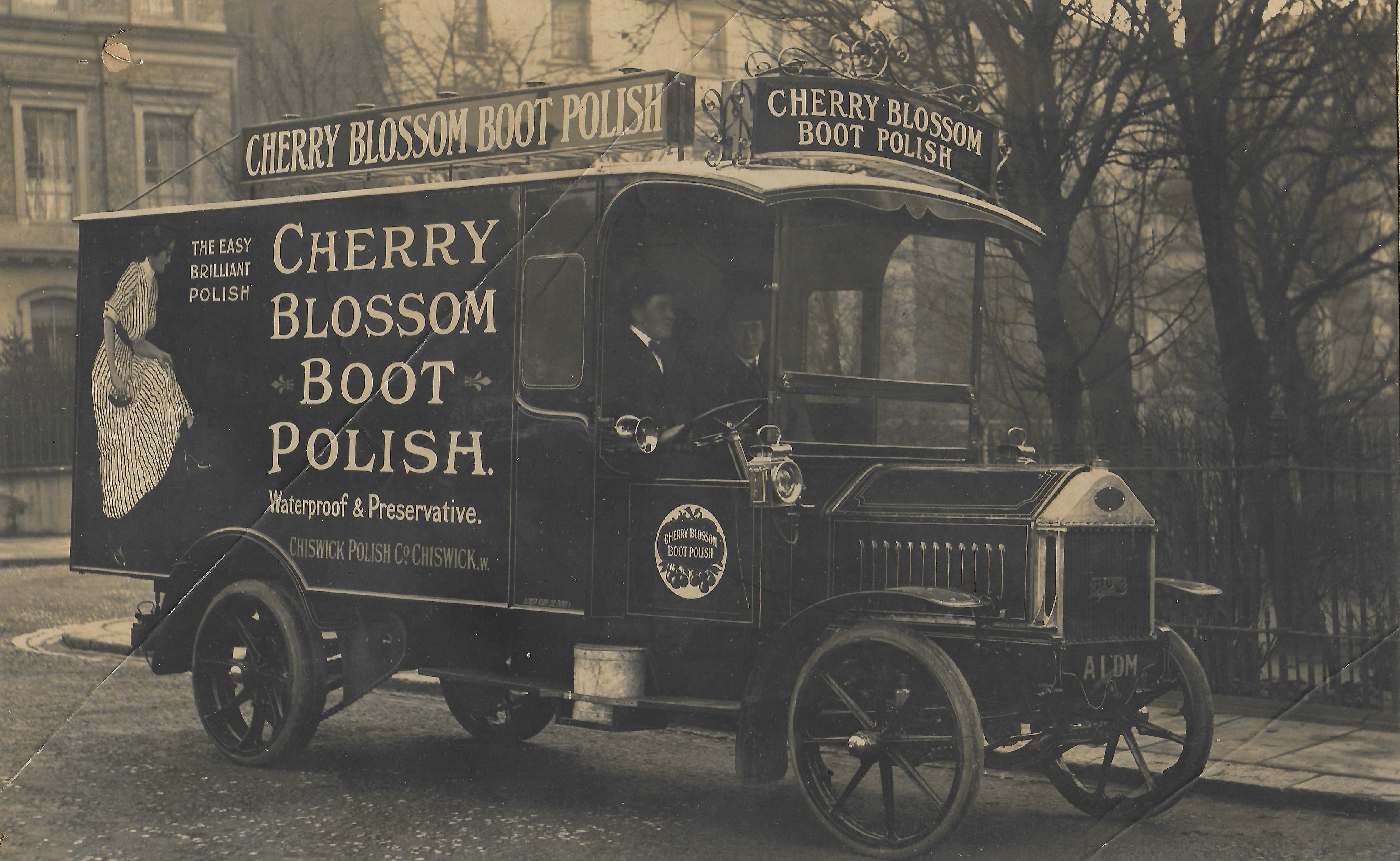 Van For Cherry Blossom Boot Polish